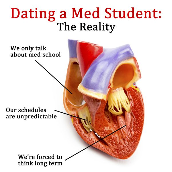 Im dating a med student
