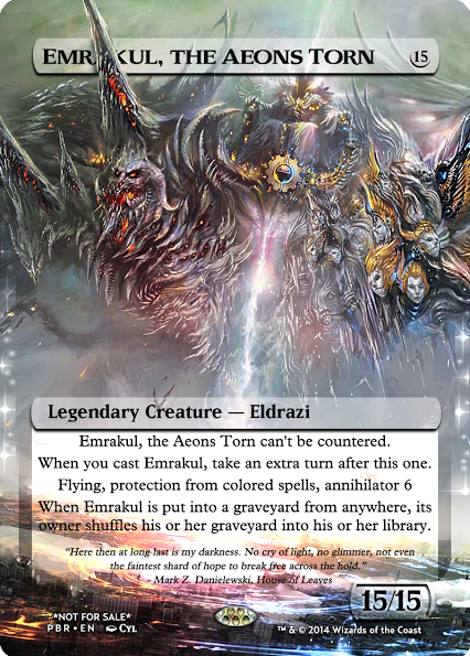 Emrakul, the Aeons Torn by Z's Proxy Factory | MTG Alters ...