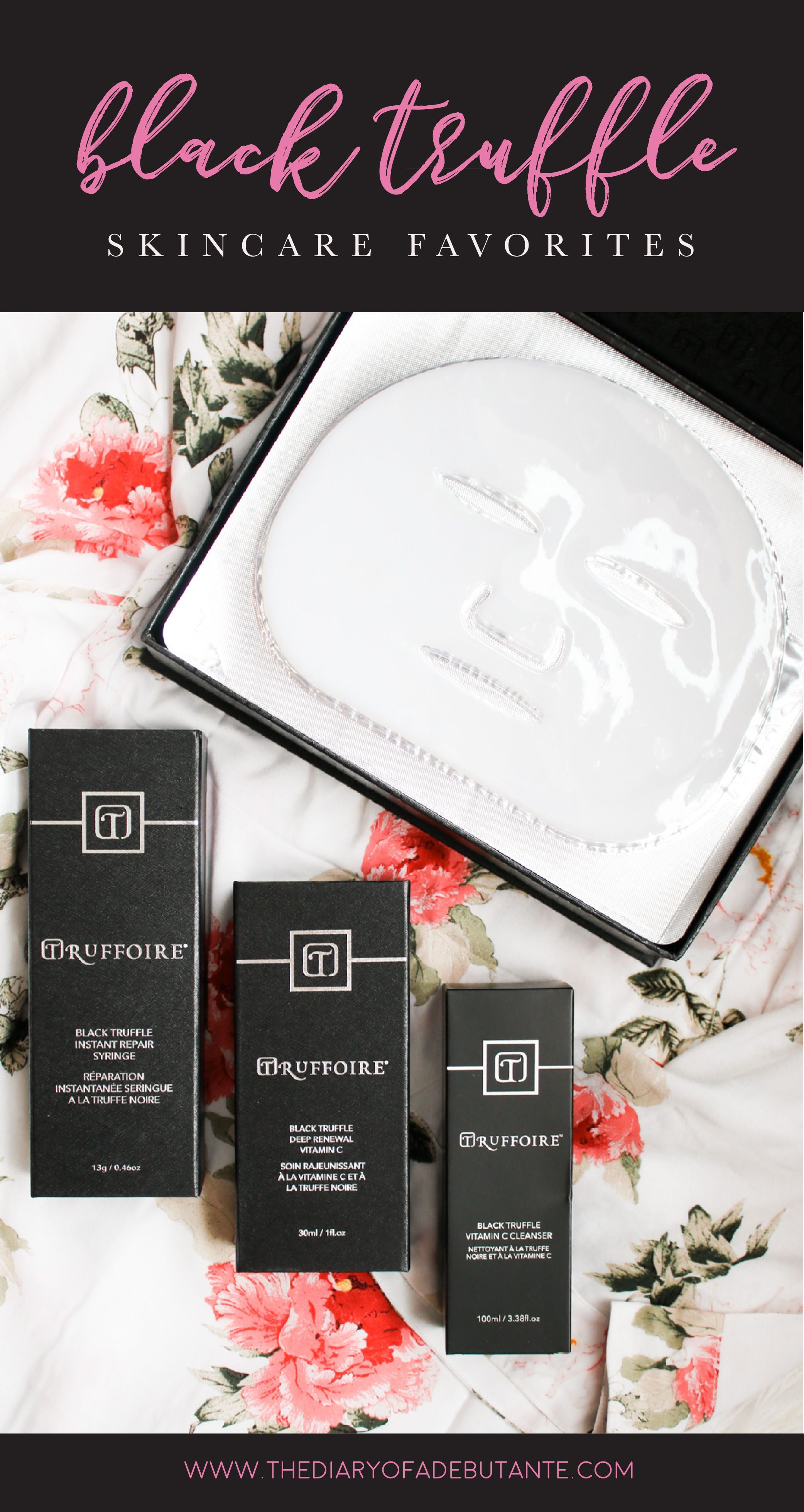The Benefits Of Black Truffle Skincare And Truffoire Review In 2020 Beauty Products Drugstore Skin Care Black Truffle