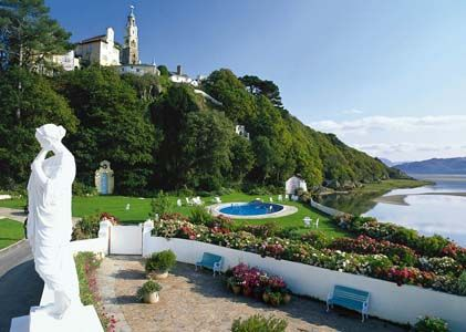 Portmeirion Ltd Penrhyndeudraeth North Wales My In Laws Home Town