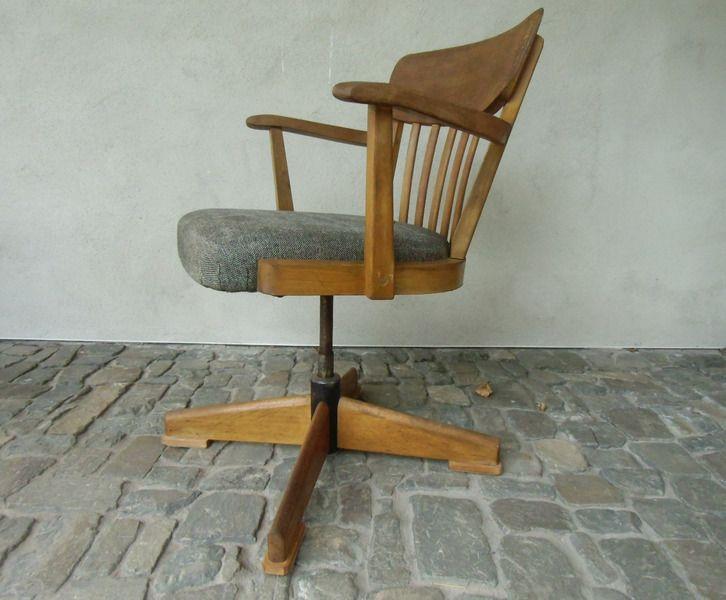 drehstuhl 30er jahre originalzustand von mad tt auf industriestil pinterest. Black Bedroom Furniture Sets. Home Design Ideas