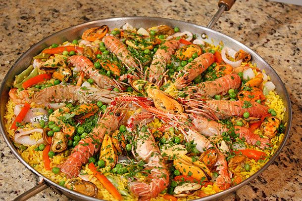 Delish paella for the luv of spain pinterest for Absolutely delish cuisine