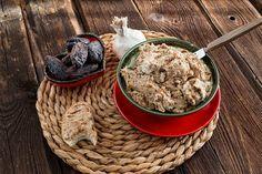 Dattel Frischkäse Dip mit Walnüssen zum Grillen oder als Aufstrich - Die K