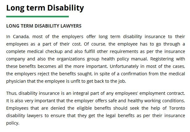 DPC Injury Law 268 Wildcat Rd Toronto, ON M3J 2N5 Canada (416) 477 - physician employment agreement
