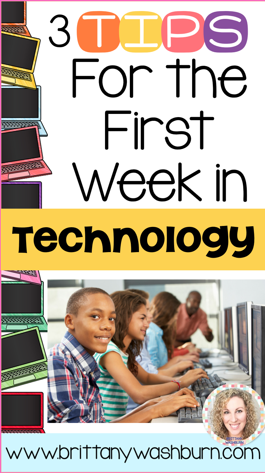 3 Tips For The First Week In Technology My Lab Computers Class Classroom Parts Is So Important Get Started On Right Track With These