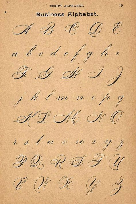 S calligraphy print page capital letters by
