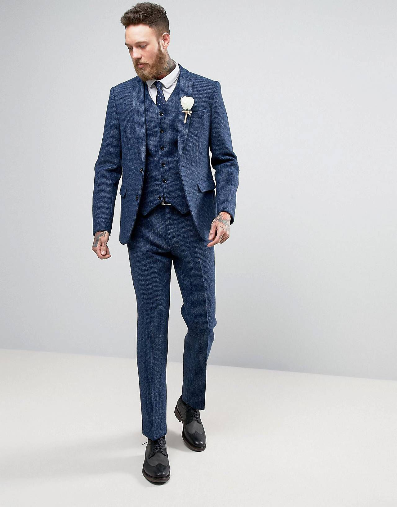 LOVE this from ASOS! Wedding suits men, Mens outfits
