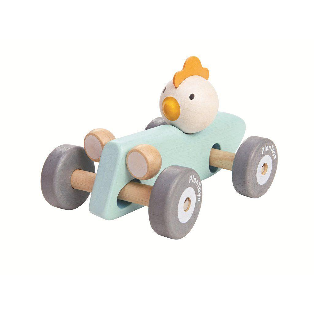 Toys car images  Plan Toys  Chicken Racing Car  ModelsToys  Pinterest  Plan toys