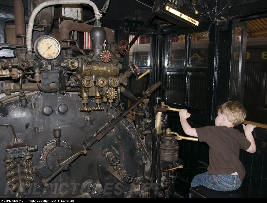 RailPictures.Net Photo: CRR 1 Clinchfield Railroad Steam 4-6-0 at Baltimore, Maryland by J. E. Landrum