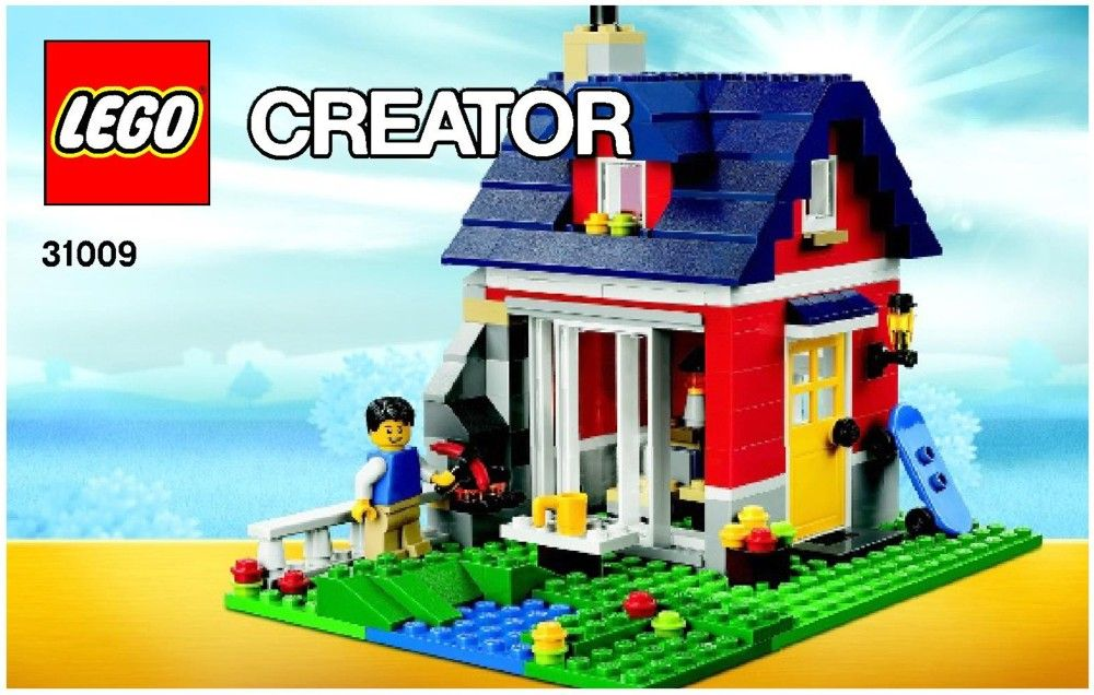 Creator Small Cottage Lego 31009 Kruses Lego Directions In