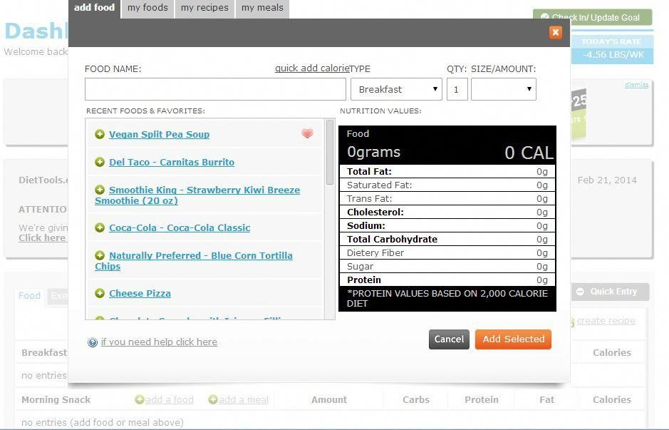 Food Database Use Our Food Database To Find Out Exactly How Many