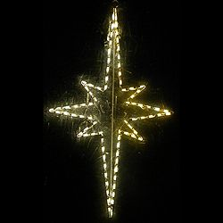 large hanging nativity star led lighted outdoor christmas decoration star decorations ebay christmas decorations - Nativity Outdoor Christmas Decorations