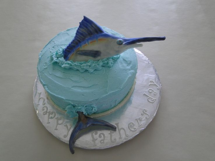 Marlin birthday cake Marlin Cake Cake Decorating Community