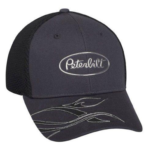 c90fd7f580b17 Peterbilt Motors Liquid Tribal Metal Gray Mesh Cap null http   www.amazon