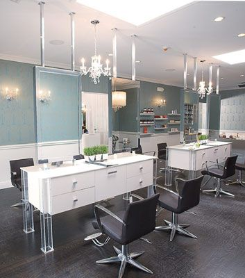 Magic 4 Person Island Station In 2019 Home Hair Salons
