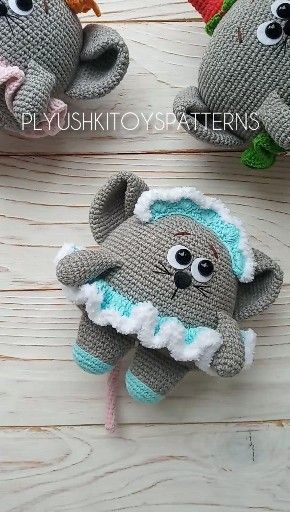 Cute little mouse crochet pattern #haken