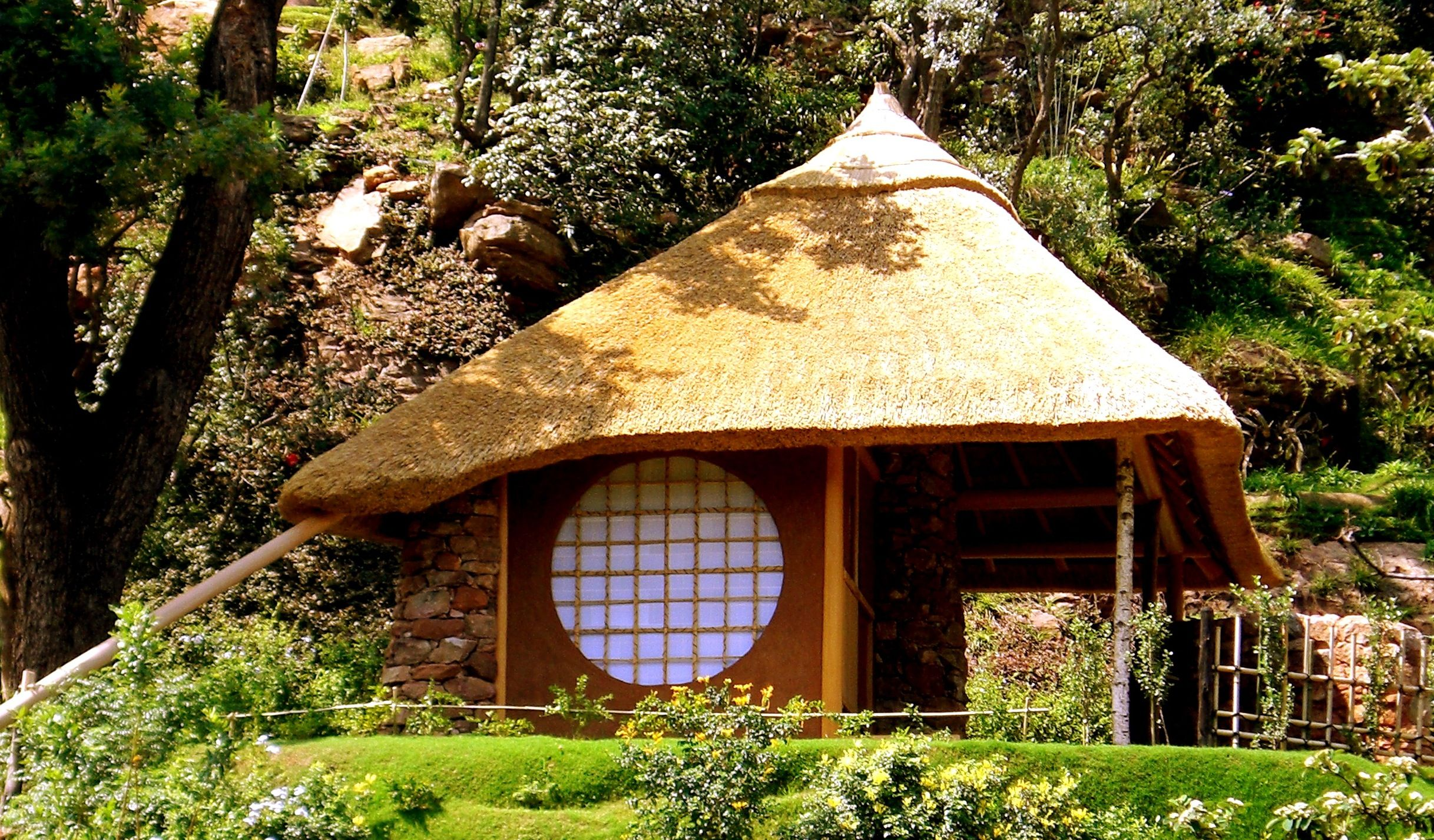 Tea House in Johannesburg by Masaharu Seno