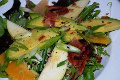 Apple Citrus & Avocado Salad @Carolyn Combs @Erin Kirkpatrick