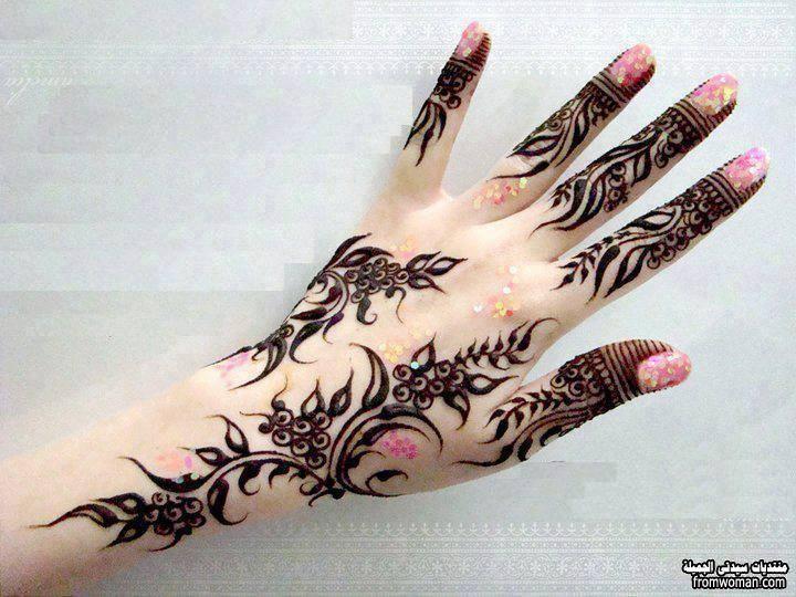 صور نقش حناء اماراتي 2014 Henna Henna Tattoo Designs Beautiful Henna Designs