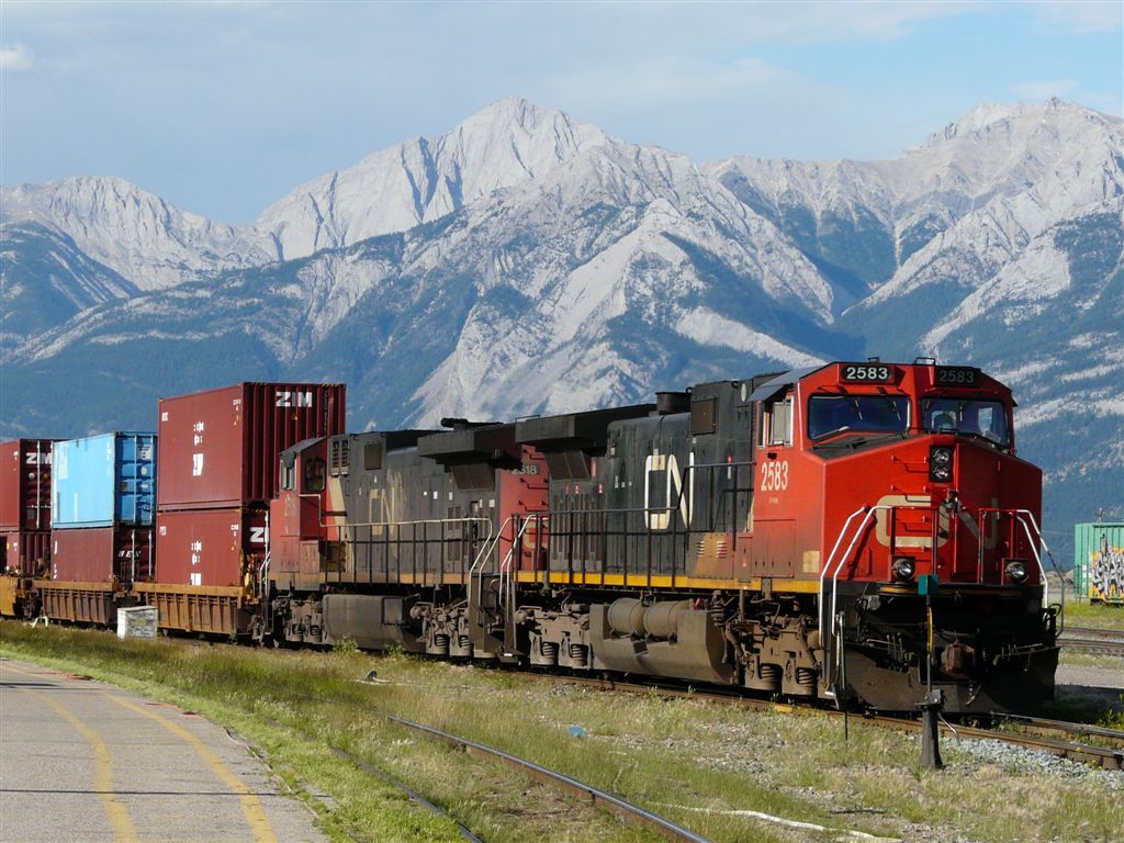 Pin canadian national railroad map on pinterest - Canadian National Railway