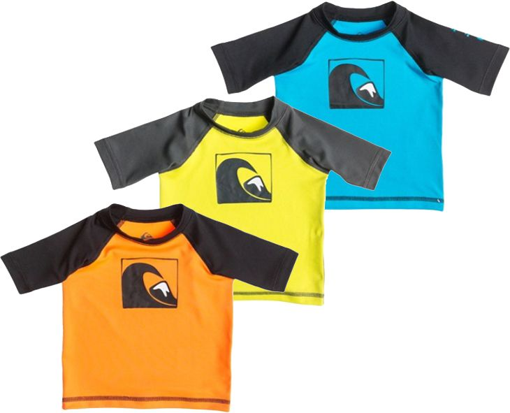 Infant S Quiksilver Main Peak S S Rashguard Rash Guard Quiksilver Infant