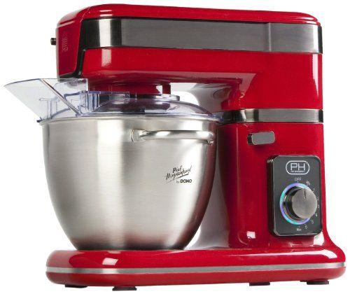 http\/\/ifttt\/1OgCXGW DOMO Küchenmaschine DO9073KR Rot by Piet - wasserhahn küche wandanschluss