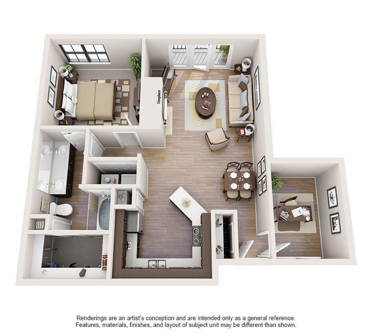 Apartments Mit Einem Oder Zwei Schlafzimmern In Oklahoma City Ok Steadfast Apartment Ren Design Designe Sims House Plans Apartment Layout Sims House Design