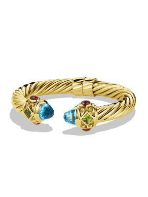 05fb2f9aac0c DAVID YURMAN Renaissance Bracelet with Blue Topaz