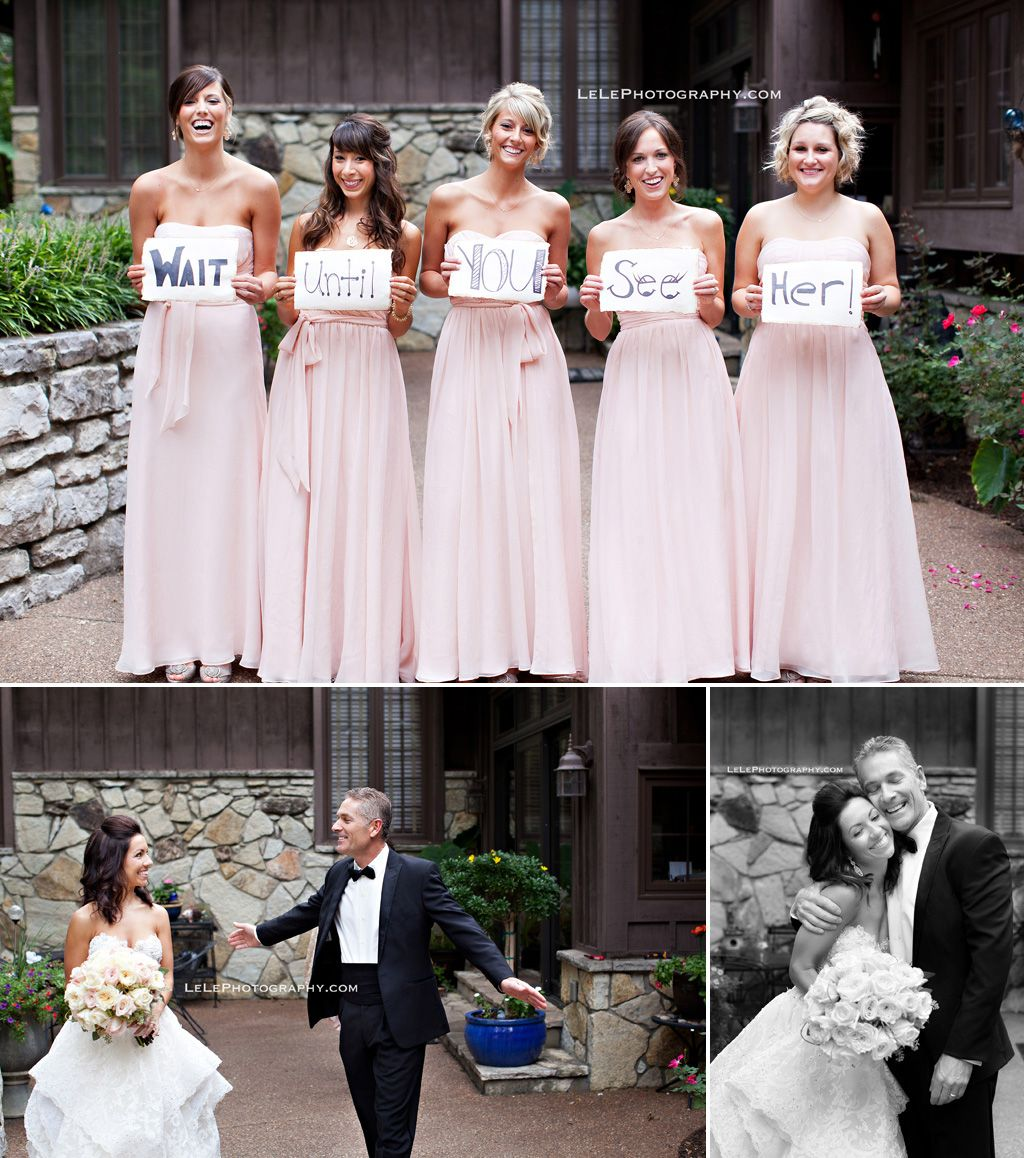 Alternative Wedding Songs To Here Comes The Bride: LeLe Photography Cute Bridesmaid Sign