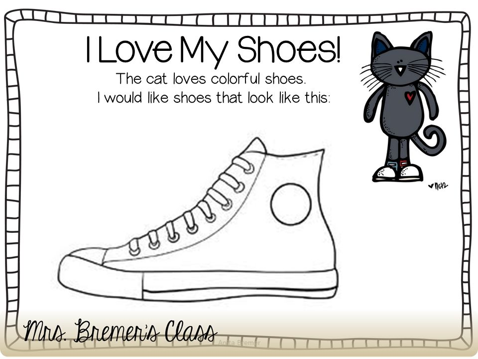 clipart pete the cat yahoo image search results - Pete Cat Shoes Coloring Pages