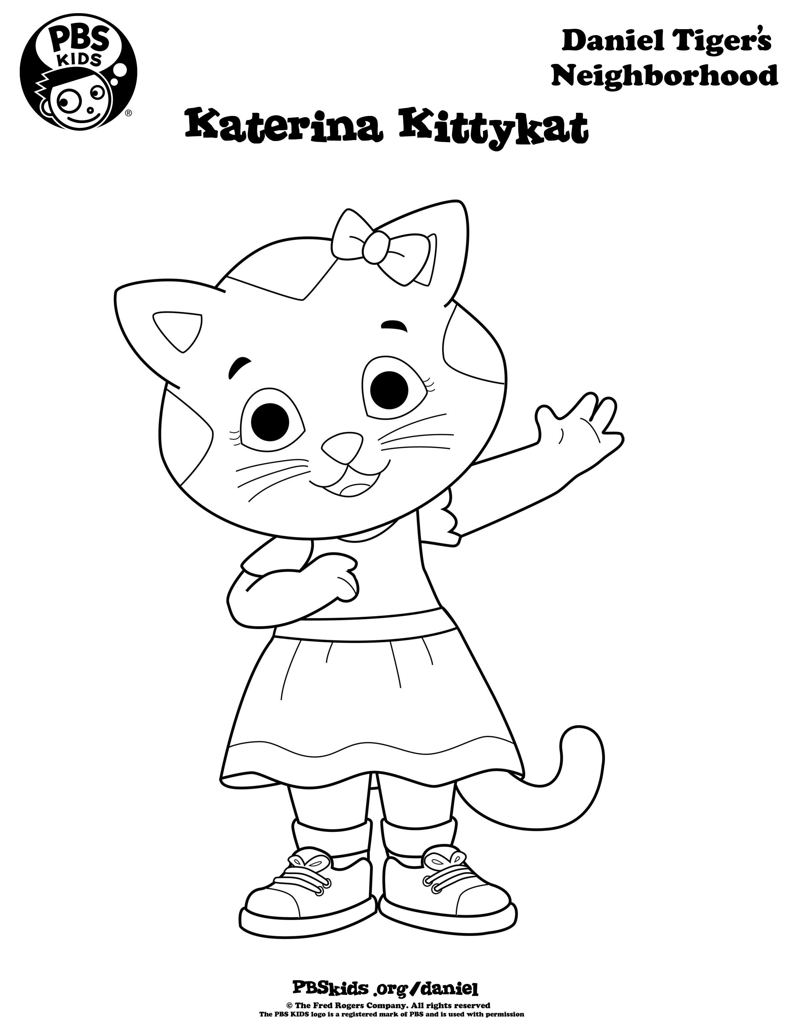Daniel tiger coloring pages daniel tiger birthday party for Pbskids coloring pages