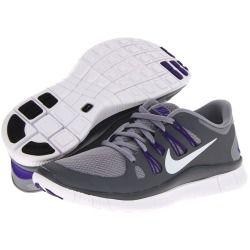 Nike Free 5.0 Furtif Gris Foncé Violet Électro Platine Métallique
