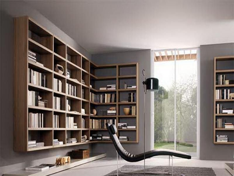Billy Floating Corner Bookcase Ideas