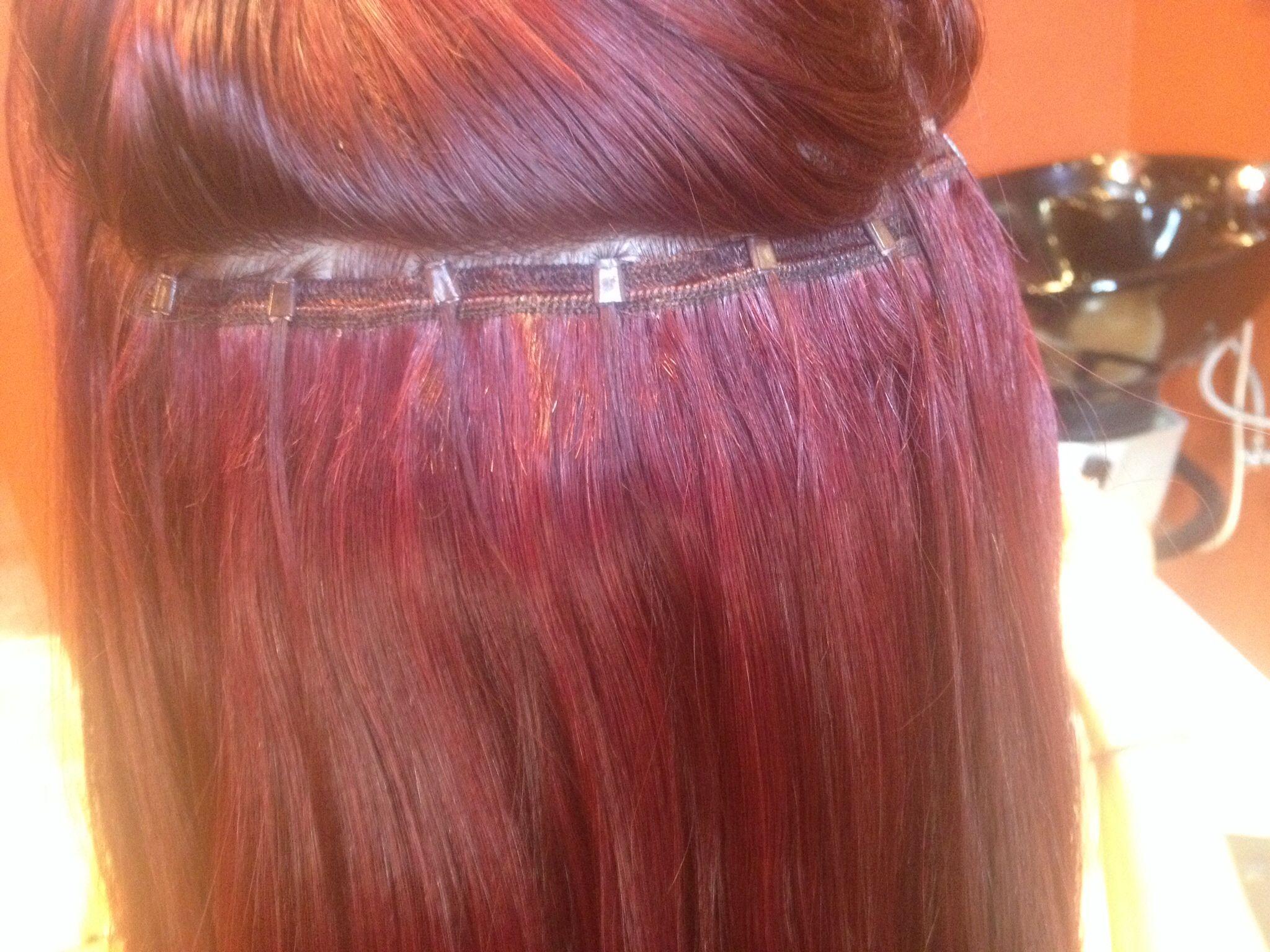 18 One Step Weft Hair Extensions All Natural European Hair