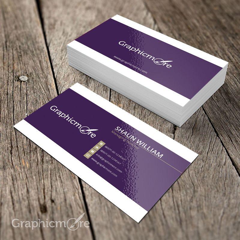 Purple Creative Business Card Template Mockup Design Free Psd File B Business Cards Creative Templates Business Cards Creative Business Card Template Psd