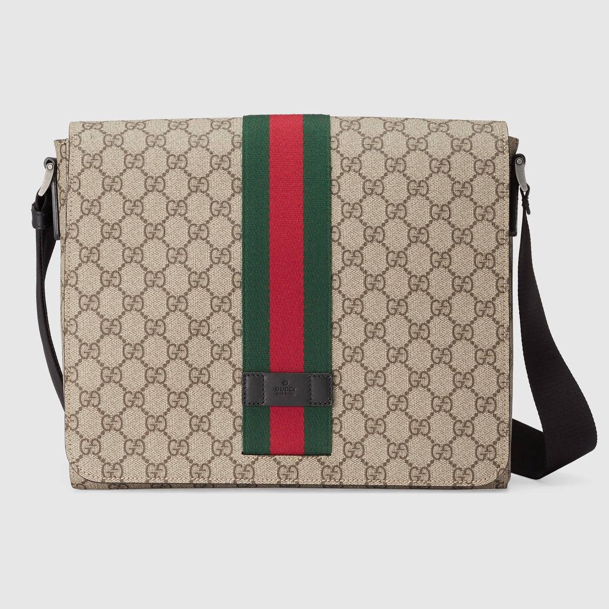 6704c76cf2be GUCCI Gg Supreme Messenger - Gg Supreme. #gucci #bags #shoulder bags # leather #canvas #nylon #lining #
