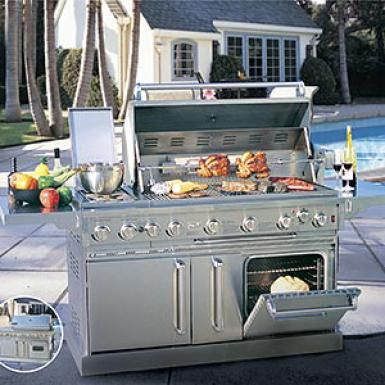 Kirkland Grand Classic With Oven Gas Grill Gas Grill Outdoor Cooking Grills Gas Oven