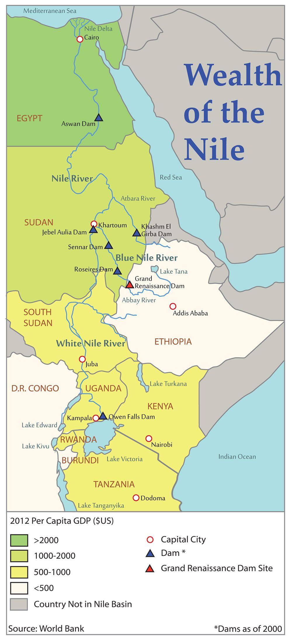 NileRiverBasinMapFinaljpg Ancient Egypt Pinterest - Map of egypt's major cities