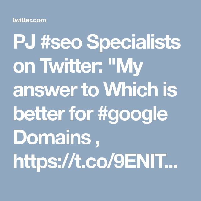 PJ SEO Specialists on | Quora - Optimizing And Marketing
