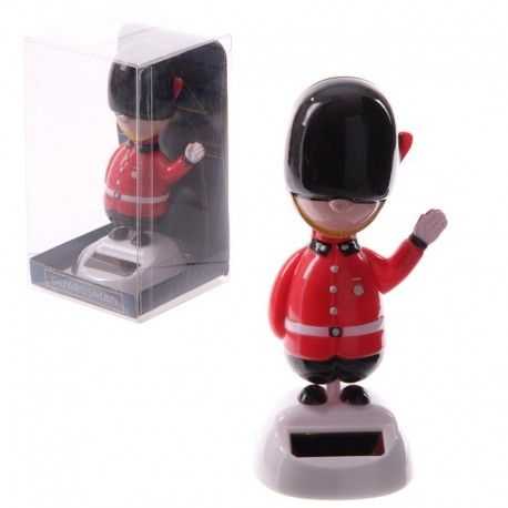 Figurine Solaire Garde anglais