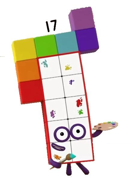Numberblocks 17 Google Search Dibujos Para Colorear Adornos Colores