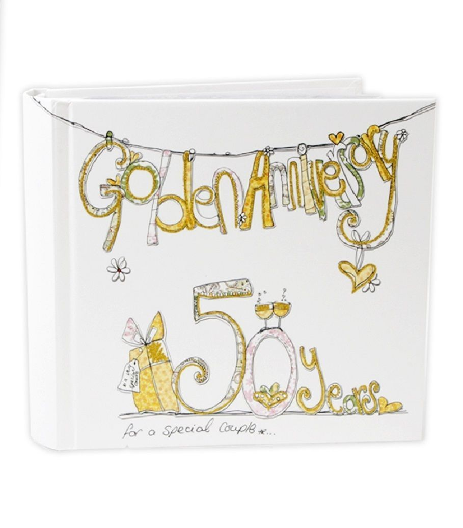 Photo Album For 50th Wedding Anniversary Gifts