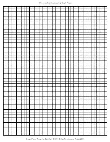 A printable sheet of engineering graph paper printable and - printable grid paper template