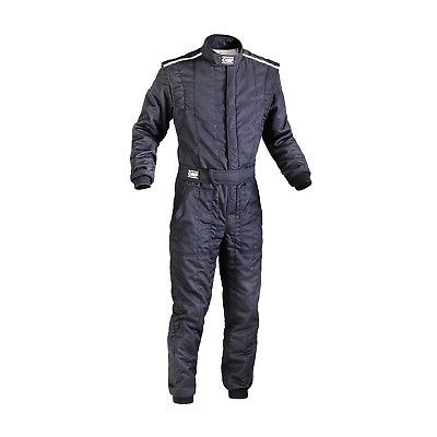 Omp Italy First S My14 Black Racing Suit With Fia Homologation Size 60 Suits Black Winter Jackets