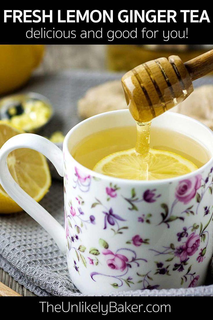 How to Make Fresh Lemon Ginger Tea How to Make Fresh Lemon Ginger Tea,