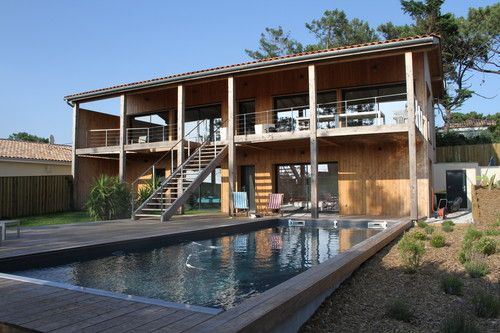 Maison Bois D'Architecte - Gironde - France - Jean-Louis Faye