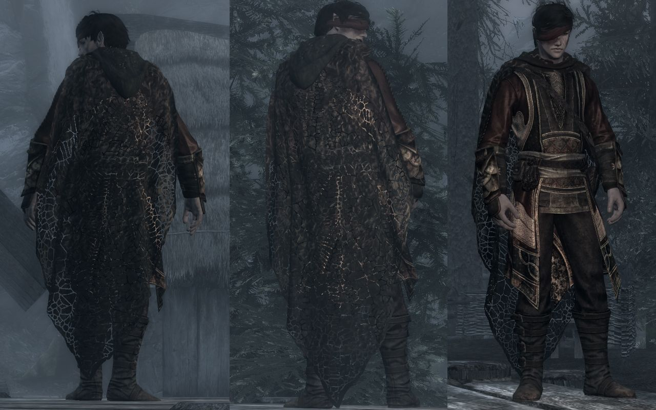 DreamBurrows Sage Outfit Retexture Standalone at Skyrim Nexus - mods