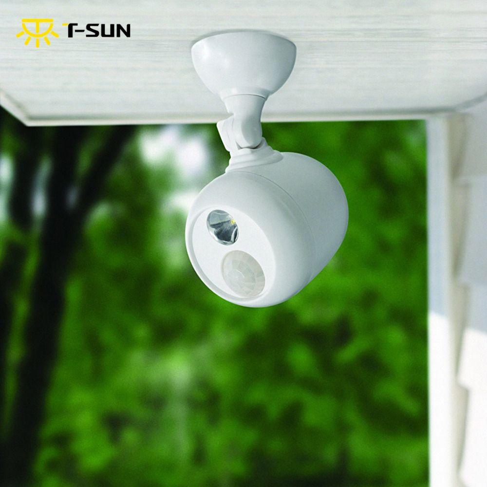 Tsunrise outdoor lighting led spotlight a motion sensor led wall