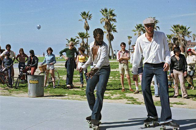 70 S Venice Beach Rollerskaters Roller Skaters Roller Girl Venice Beach