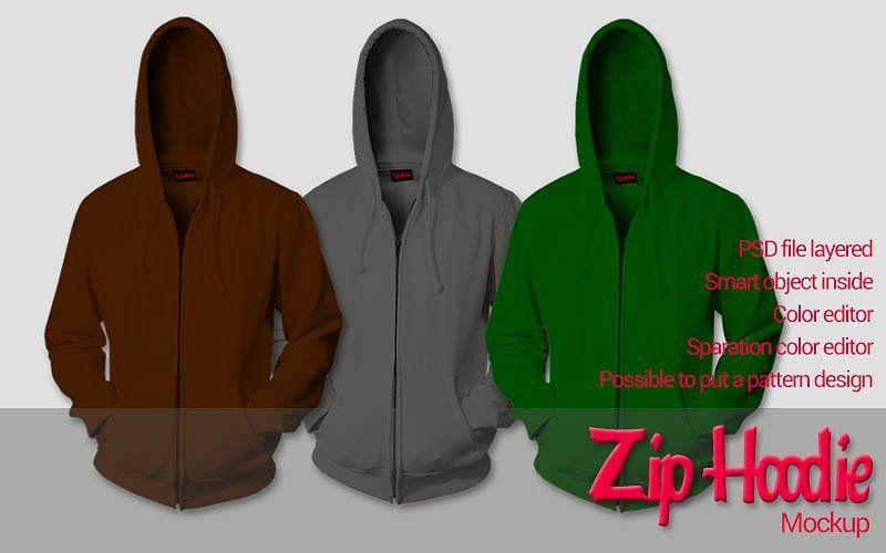 Zip Hoodie Mockup Hoodie Mockup Zip Hoodie Hoodies